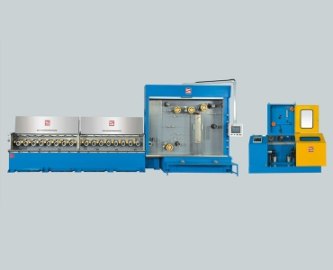 Multiwire Horizontal Drawing Machine with Annealer